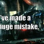Batman: Arkham Mistake